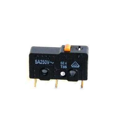5A 125VAC MICROSWITCH PLUNGER SPDT SS-5 By OMRON ELECTRONIC COMPONENTS